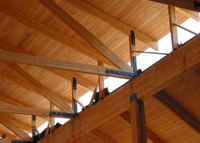 Structural wood corporation wood decking for Tongue and groove roof decking