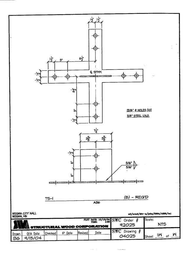 Structural wood corporation shop drawings for How to read structural blueprints